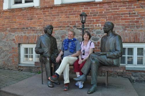 Olimpiečių kelionė į Latviją ir Estiją
